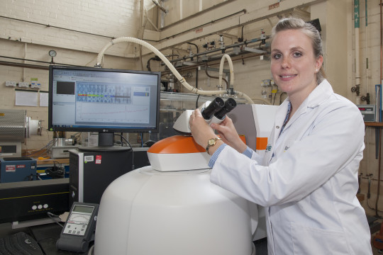 Feature image for Rachel, Inorganic Materials Chemist, Materials Science.