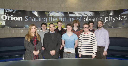 Feature image for AWE-inspiring visit for pupils