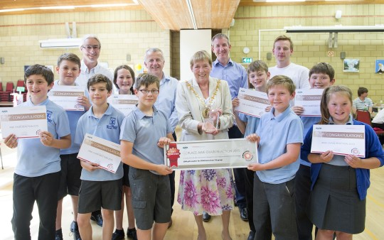 Feature image for Local primary schools take part in AWE's annual Chain Reaction Challenge