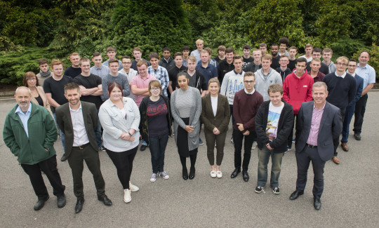 Feature image for AWE welcomes its latest intake of apprentices