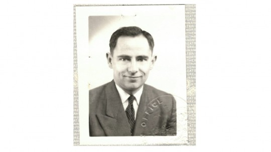 Brian in 1960 when he worked at AWE