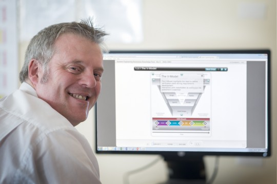 Feature image for Cliff- Principal Engineering Lead and Head of Profession for Systems Engineering.