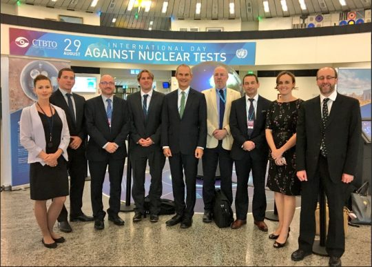 Feature image for AWE experts support CTBTO in Vienna