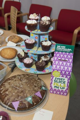 Feature image for AWE staff raise big slice of cash for Macmillan