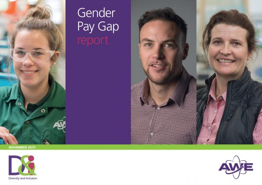Feature image for AWE gender pay gap report