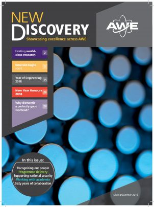Feature image for Issue 2 of New Discovery out now