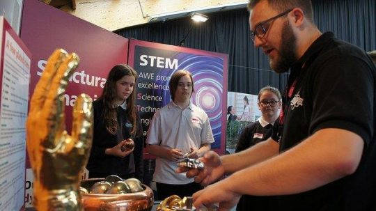 Feature image for AWE at TeenTech 2018 – STEMtastic!